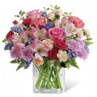 China Enchanted Garden Flower Bouquet on sale