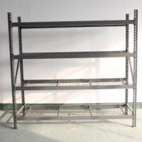Quality Shop shelving Wall unit with light box for sale