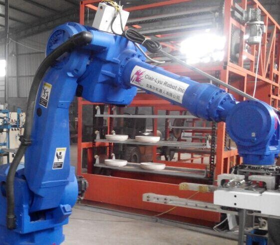 China Intelligent robot rolling forming production linex