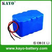 China Factory Rechargeable Lithium Ion Battery Pack 18650 5S3P 18.5V 6600mAh For Power Tools Manufactures