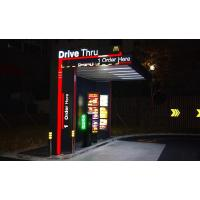 Buy cheap Signage and menuboard  Drive thru canopy sign from wholesalers