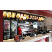 Buy cheap Signage and menuboard  Indoors rolling menuboard from wholesalers