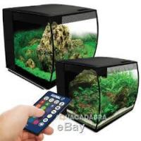 China Fluval Flex LED Aquarium Nano Tank 34L / 57L Bowfront with Integrated Filter on sale