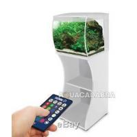 China Fluval Flex 57L White LED Aquarium & Cabinet/Stand Nano Fish Tank with Filter on sale