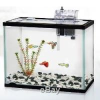 China Classica 12l 12 Litre Aquarium Fish Tank Starter Kit System Gold Goldfish Filter on sale