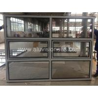 New product aluminum alloy frame awning window with fixed glass passed AS2047 Manufactures