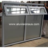Aluminum Double Awning Window with AS2047 in Australia & NZ Manufactures