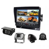 Quad monitor reverse camera system with 4 cameras Manufactures
