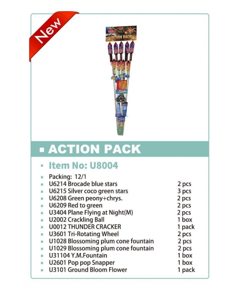 Quality toys fireworks Action Pack for sale