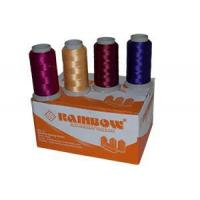 POLYESTER YARN Rainbow German Embroidery Threads Manufactures