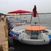 Quality Cheap Modern Bbq Donut 8 Passengers Electric Boats for Sale for sale