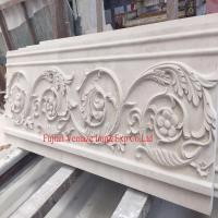 Castle Beige Stone Marble Carving Exterior Wall Panel Manufactures