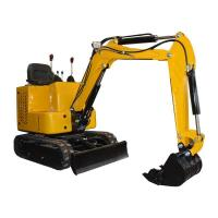 Buy cheap 1ton Hydraulic Crawler Bucket Excavator Construction Machinery For Sale from wholesalers