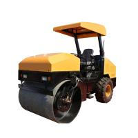 Buy cheap 4Ton Double Drum Ride On Soil Compaction Road Vibro Roller from wholesalers