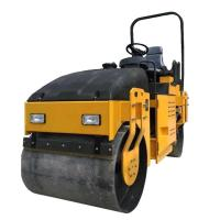 Buy cheap 3Ton Double Drum Ride On Soil Compaction Road Vibro Roller from wholesalers