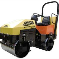 Buy cheap 2Ton Double Drum Ride On Soil Compaction Road Vibro Roller from wholesalers