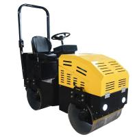 Buy cheap 1Ton/980Kg Double Drum Ride On Soil Compaction Road Vibro Roller from wholesalers