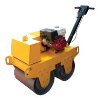 Buy cheap Walk Behind Double Drum Soil Compaction Road Vibro Roller from wholesalers