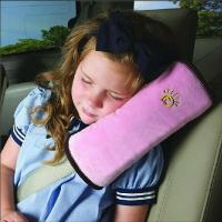 China Portable Child Kids Auto Pillow Car Safety Seat Belt Protect Shoulder Pad Adjust Vehicle Seat on sale