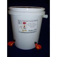 China Automatic Chicken Waterer 5 Gallon 4 Drinker Cup Garden Hose Connection on sale