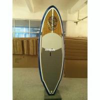 China Paddle Board 8'5 bamboo veneer stand up paddle board on sale