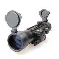 Hunting Scope&laser sight Fish Bone Double color 2 times Red dot Manufactures