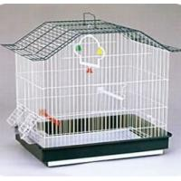 Buy cheap Bird Cages Name:YA198 Metal chrome bird cage from wholesalers
