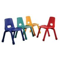 China HY-0527B Kindergarten Furniture Stackable Plastic Chair For Kids on sale