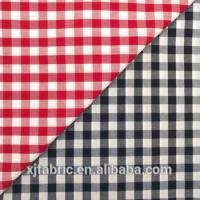 Custom 100 cotton yarn dyed check shirt fabric Manufactures