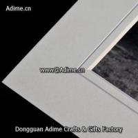 acid free slip in mat board pre-cut beveled Matboard for photo Manufactures