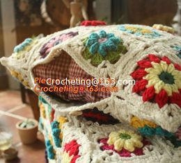 Quality Crochet Pillow, Cushion Covers, Knitted pillow accessories for sale
