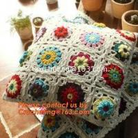 Crochet Pillow, Cushion Covers, Knitted pillow accessories Manufactures