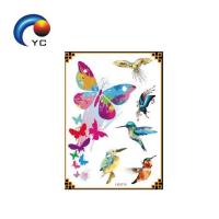 Buy cheap Customized glitter powder temporary body tattoo stickers from wholesalers