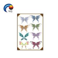 New customized glitter tattoo stencils flash fake tattoo sticker Manufactures
