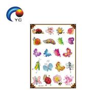 New arrival colorful Glitter powder temporary body tattoo sticker(custom design) Manufactures