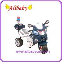 China T00757 police toy Motorcycle for child Electric bike for sale