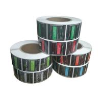 China Cosmetic Bottle Labels on sale