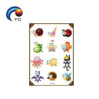 Buy cheap Non-toxic glow in dark tattoo sticker with the beautiful butterfly from wholesalers