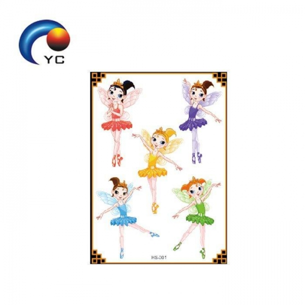 Quality Special Glitter Power Temporary Body Tattoo Sticker beauty and non-toxic sticker for skin for sale