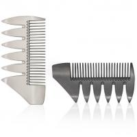 Wide Tooth Metal Hair Comb For Salon Use Manufactures