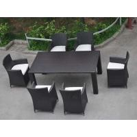 Garden Furniture Sets Patio Furniture Outdoor PE Rattan Dining Set Chairs and Table Manufactures