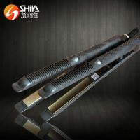 China SY-9929 Best Pro nano titanium plate type led display 2 in 1 flat iron hair stra on sale