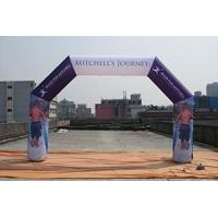 Tent Products dye sublimation inflatable full colorful arch Manufactures