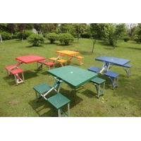Tent Products alu alloy portable table with chair Manufactures