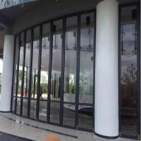 China Aluminum Frame Glass Movable Partition on sale