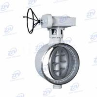Quality Triple Offset Butterfly Valve Butt Weld Triple Offset Butterfly Valve for sale