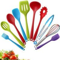 Hot Sell Colorful Design Modern Cheap Christmas Silicone Egg Cooking Utensil Light Silicone