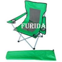 China Beach Chair Folding camping chair with armrest on sale