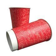 Disposable dessert cups Merry Christmas coffee paper hot cup Manufactures