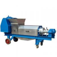 high quality automatic double screw ginger juice extractor for sale Manufactures